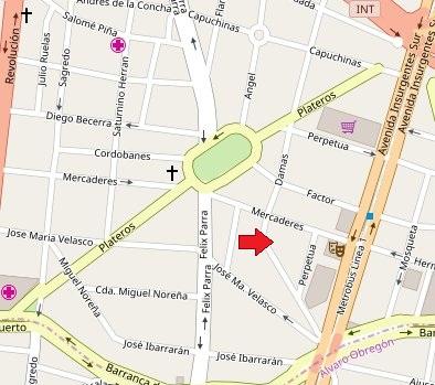 mapa-psicologa-psicoanalista-ofelia-ramirez-rueda-mexico-df-cdmx-distrito-federal-colonia-san-jose-insurgentes